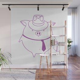 piggy 01 Wall Mural