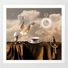 Special breakfast Art Print