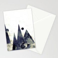 Wandering star Stationery Cards