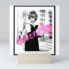 fashion icon no 2 neon edition Mini Art Print