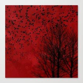 Blood Sleep Canvas Print