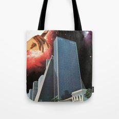 The Coming Of The Celestials Tote Bag