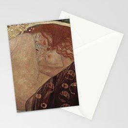 Danae  - Gustav Klimt Stationery Cards