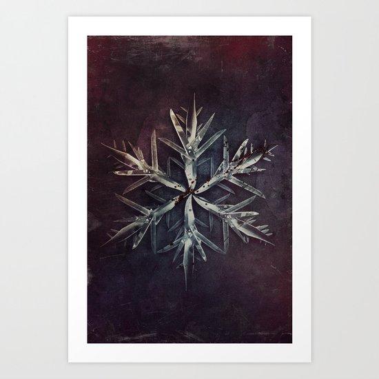 Snowblade Art Print