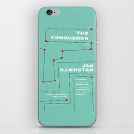 The Conqueror iPhone Skin