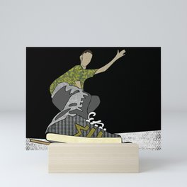 Skateboard 14 Mini Art Print
