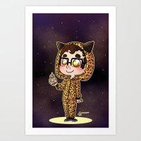 darren criss Art Prints featuring Darren & BB8 by Sunshunes