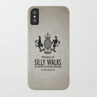 monty python iPhone & iPod Cases featuring MONTY PYTHON - Ministry of Silly Walks by La Cantina