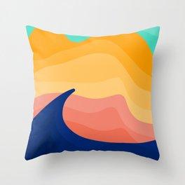 Stockton Dunes Throw Pillow