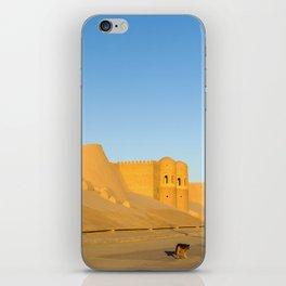 Khiva City Wall - Uzbekistan iPhone Skin
