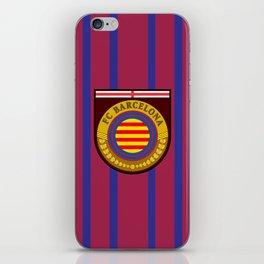 Catalonia Football Badge iPhone Skin