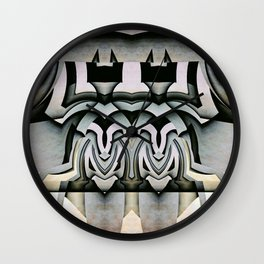King And Queen Of The Insect World Wall Clock