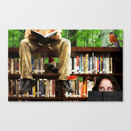 Adventures in Reading Canvas Print