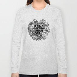 ARMENIAN COAT OF ARMS - Black Long Sleeve T-shirt