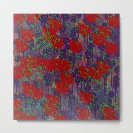 Poppy Fields Metal Print