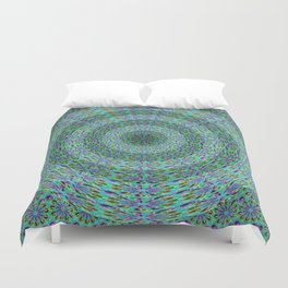 Circle pattern beaded Duvet Cover