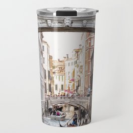 Bridge of Sighs, Venice, Italy (Lighter Version) Travel Mug
