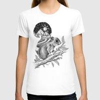 squirrel T-shirts featuring SQUIRREL by Thiago Bianchini