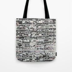 Removing Filters (P/D3 Glitch Collage Studies) Tote Bag