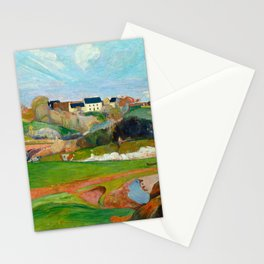 Landscape at Le Pouldu, 1890 Stationery Cards
