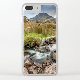 Tryfan Snowdonia National Park Clear iPhone Case