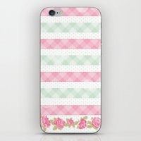 shabby chic iPhone & iPod Skins featuring Shabby Chic by camilcd