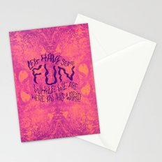 DENT MAY Stationery Cards