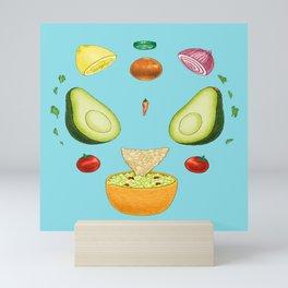 Avocado Mandala Mini Art Print