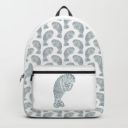 Tribal Manatee Backpack