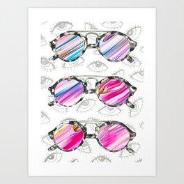 Sunglasses 2 Art Print