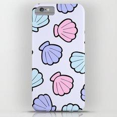 Mermaid Shells Pastel Pattern Slim Case iPhone 6s Plus