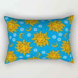 Fun sky illustration Rectangular Pillow