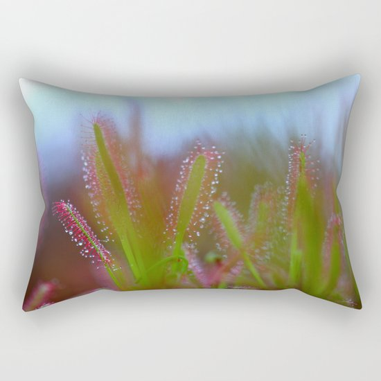 Fairy Like Sundew - JUSTART © Rectangular Pillow