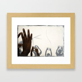 Hands of India Framed Art Print