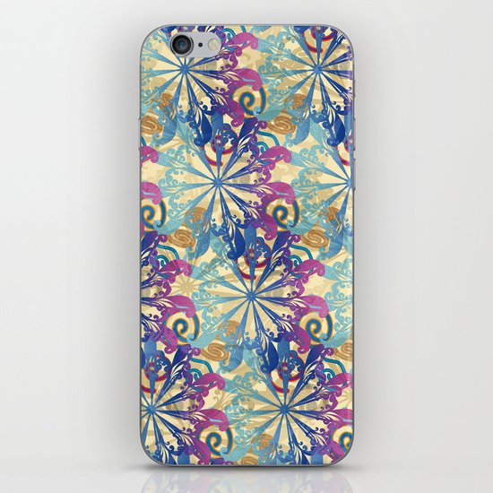 Pattern fantasy iPhone & iPod Skin