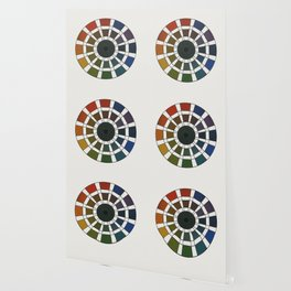 Rouget de Lisle - Table Chromatique 1838, Remake, faded version Wallpaper