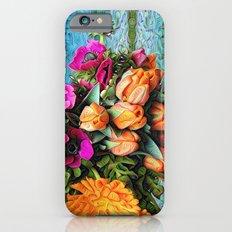 Pretty Trippy Floral iPhone 6 Slim Case