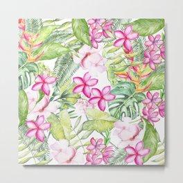 Tropical Garden 2 Metal Print