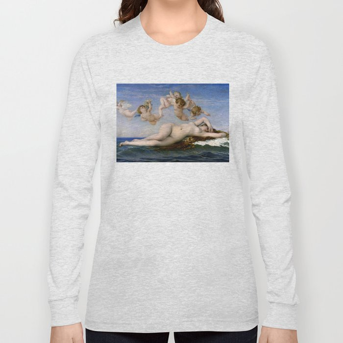 "Alexandre Cabanel ""The Birth of Venus"" (1863) Long Sleeve T-shirt"