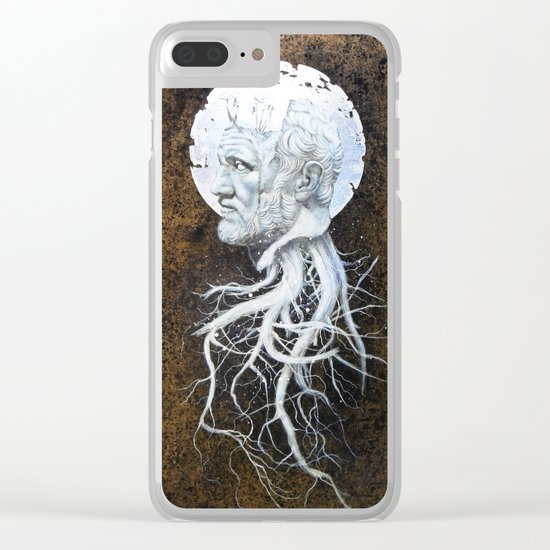 """The End of Reason II"" Clear iPhone Case"