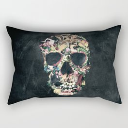 Vintage Skull Rectangular Pillow