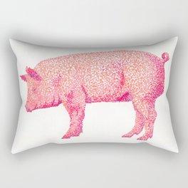 Hog & Kiss Rectangular Pillow