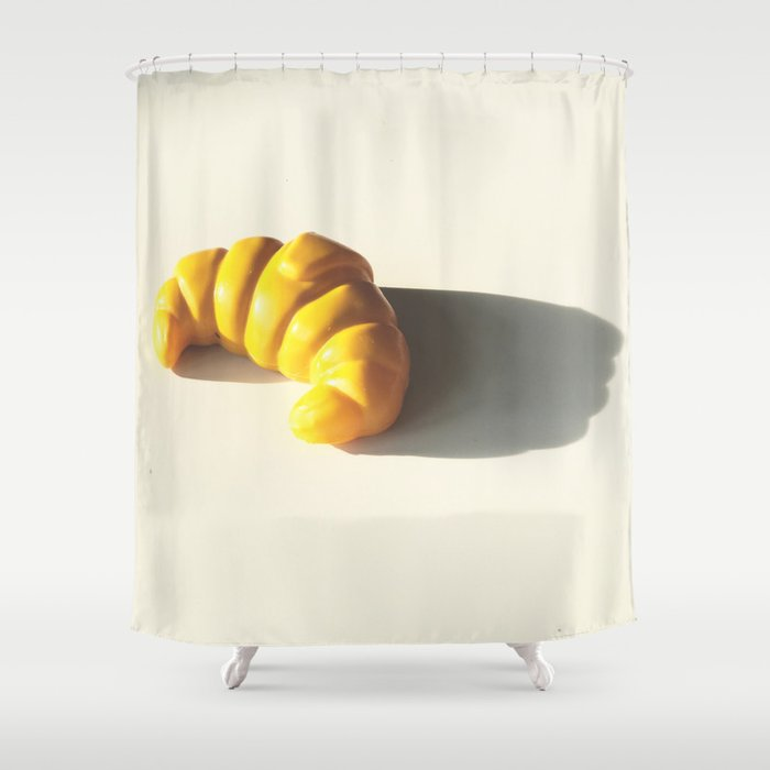 How To Pronounce Croissant Shower Curtain By Giftedfools Society6