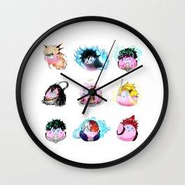 9 Dango Group Wall Clock