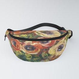 """Auguste Renoir """"Anémones dans un vase"""" Fanny Pack"""