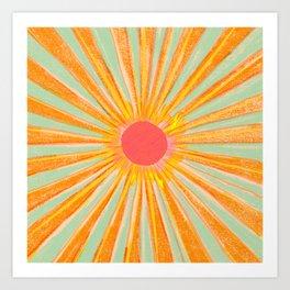 Sun In The Sky 2 Art Print