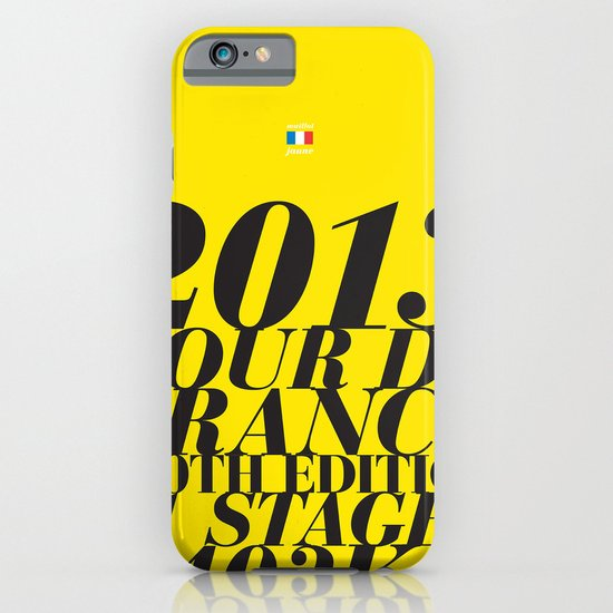 2013 Tour de France: Maillot Jaune iPhone & iPod Case