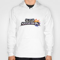 super smash bros Hoodies featuring Super Smash Bros by Hisham Al Riyami