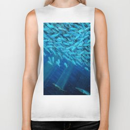 Oceans of Plenty Biker Tank