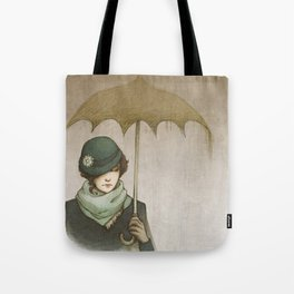 Winter Rains Tote Bag